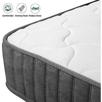 3FT Single Mattress Pocket Sprung Mattress with Breathable Memory Foam and Tencel Fabric Orthopaedic Mattress