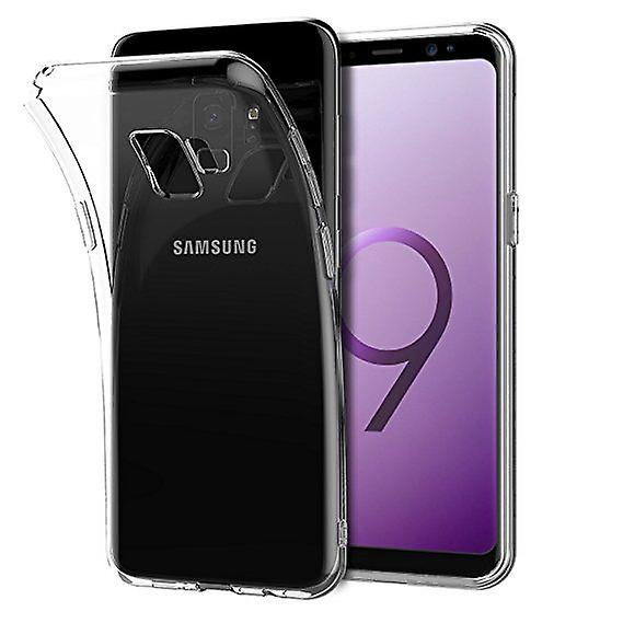 Stuff Certified® Transparent Clear Silicone Case Cover TPU Case Samsung Galaxy S9