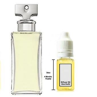 Calvin Klein Enternity For Her Inspired Fragrance 30ml Refill Essential Diffuser Oil