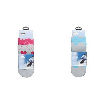 Trespass Womens/Ladies Luv Ski Socks