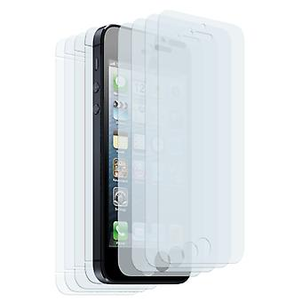 8 X Screen Protector Iphone 5 Guard Protector Film (4 X Front And 4 X Rear Film)