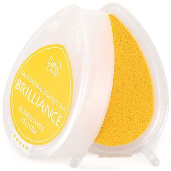 Brilliance Dew Drop Pigment Ink Pad - Amarillo Girasol