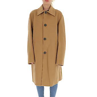 Acne Studios B901966400 Men's Brown Cashmere Coat