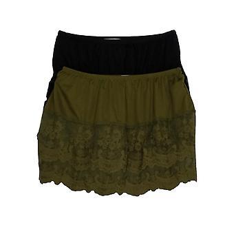 Indigo Thread Co. Shaper S Set Of Two Mini Slip Green/ Black