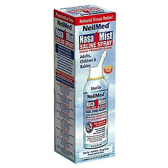 Nasa mist saline spray, 2.35 oz