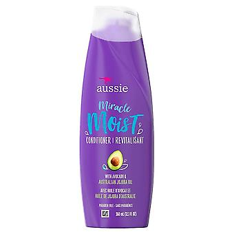 Aussie miracle moist conditioner with avocado & jojoba, 12.1 oz