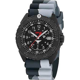 KHS Wristwatch الرجال المنفذ الأسود تيتان CR KHS. ENFBTCR. DC1