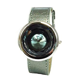 Henley Glamour Smoke Grey Multi Faceted Ladies Fashion Watch H06021.3