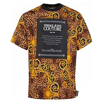 Versace Jeans Couture Oversize Baroque Couture Patch T-Shirt