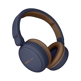 Fone de ouvido Bluetooth com sistem de energia de microfone 444885 Azul