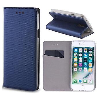 Huawei Honor 10 - Smart Magnet Mobile Wallet -Navy Blue