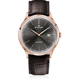 Edox - Wristwatch - Men - Les Vauberts - Automatic Date - 80106 37RC GIR