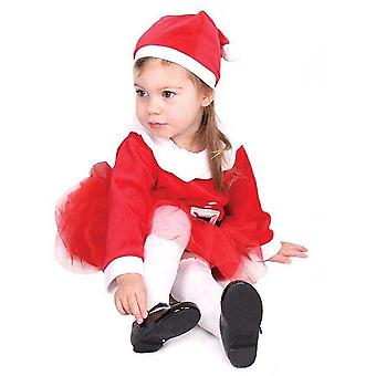 Christmas Shop Childrens Girls Santa Dress