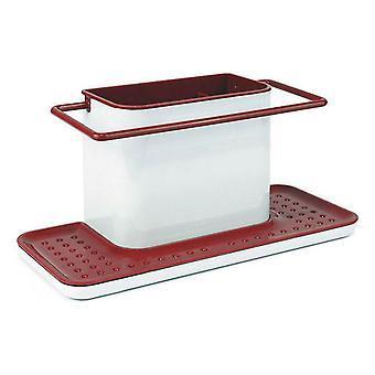 Multi-Purpose Organiser Confortime White Red (30,5 x 13 x 14,2 cm)