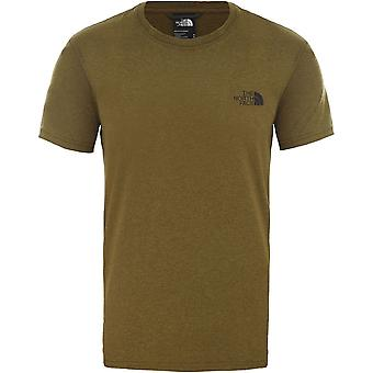 North Face Reaxion Red Box T94CDWHSD universal all year men t-paita