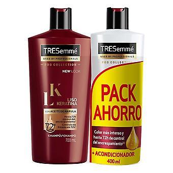 Hair Straightening Treatment Liso Keratina Tresemme (2 pcs)