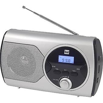 Dual P 10 Pocket radio FM Silver