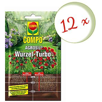 Disperso: 12 x COMPO AGROSIL Root Turbo, 50 g