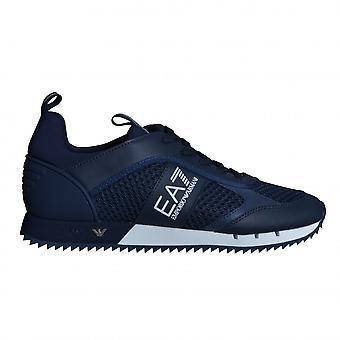 EA7 Men's Footwear EA7 Men's Navy Blue Trainers