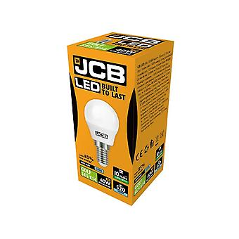JCB LED Golf 520lm Opal 6w Light Bulb E14 6500k
