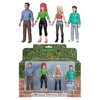 Married with Children Bundys NYCC 2018 Action Figure 4 Pk