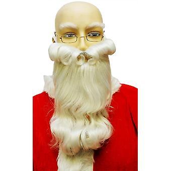 Realistic Santa Beard White