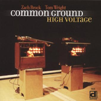 Common Ground - High Voltage [CD] USA import
