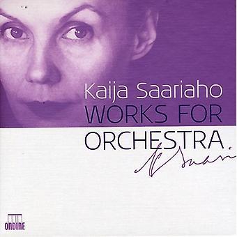 Kaija Saariaho - Kaija Saariaho: Works for Orchestra [CD] USA import