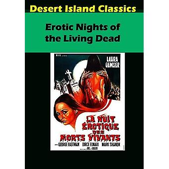 Erotic Nights of the Living Dead [DVD] USA import