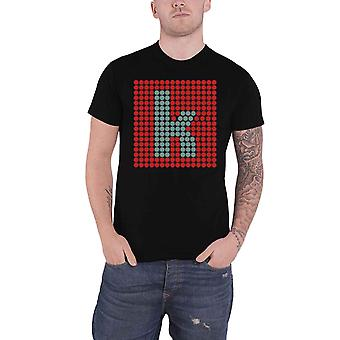 The Killers T Shirt K Glow Band Logo new Official Mens Black