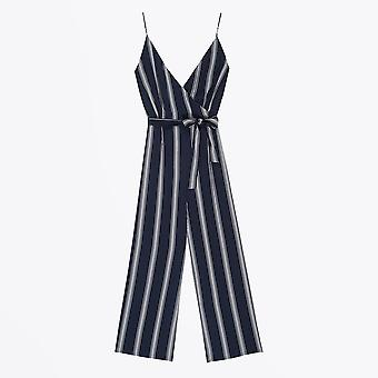Rails  - Serena Stripe Jumpsuit - Navy