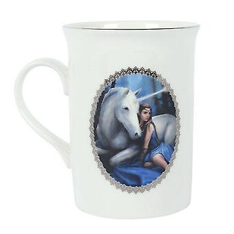 Anne Stokes Blue Moon Mug