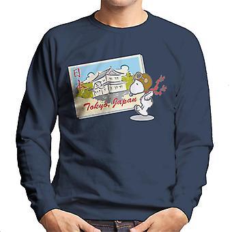 Erdnüsse Snoopy In Tokio Japan Männer's Sweatshirt