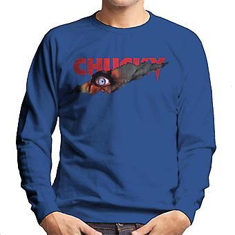 Chucky hotfulla ögon män ' s Sweatshirt