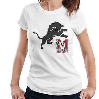 East Mississippi Community College Dark Lion Logo Women's T-Shirt