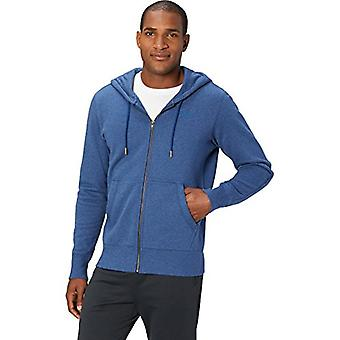 Peak Velocity Men's Heavyweight Fleece Full-Zip Athletic-Fit Hoodie, victoire ...