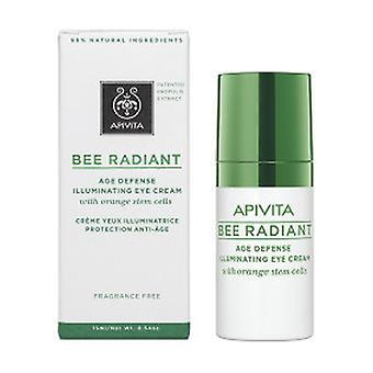 Bee Radiant Age Defense Opplysende øyekrem med oransje stamceller 15 ml krem