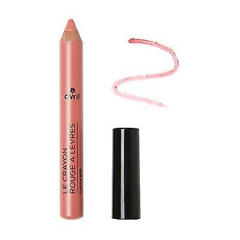 Rosentre leppe blyant - sertifisert organisk 1 enhet (rosa)