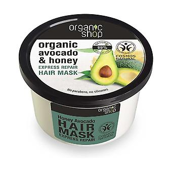 Organic Avocado and Honey Express Repair Hair Mask 250 ml