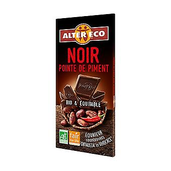 Bio Dark Chocolate with Chile 100 g