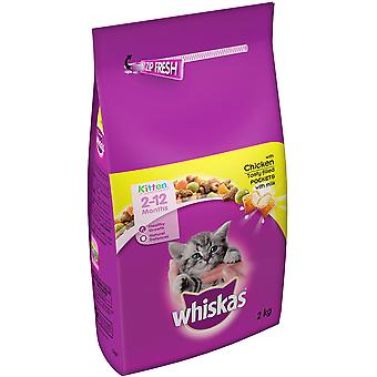Whiskas Kitten & Junior Complet 2kg