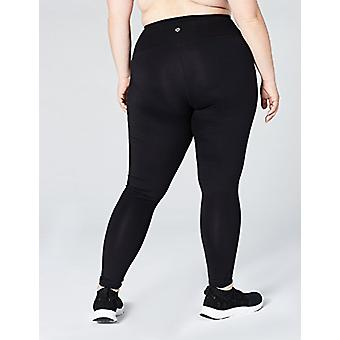 Brand - Core 10 Women's Icon Series - The Rebel Plus Size Legging, Bla...