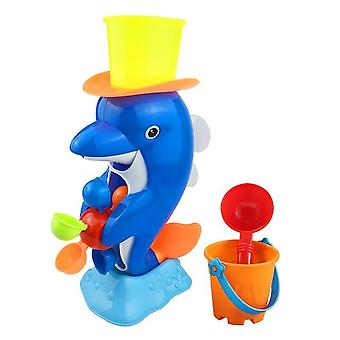 Cute Yellow Duck,, Elephant Faucet Waterwheel Bathing Water Spray