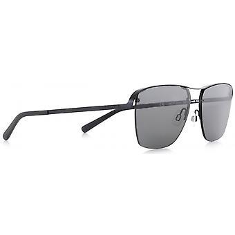 Sunglasses Unisex Skye matt black/smoke (001P)