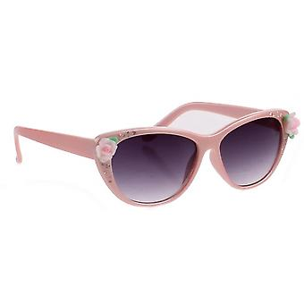 Sunglasses girl girl light pink
