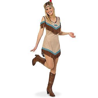 indisk kjole kvinners kostyme apachin indisk kjole karneval kostyme damer