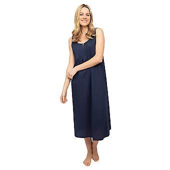 サイバージャミーズノラローズスカーレット1442女性&アポス;sネイビーブルークリップジャカードナイトドレス