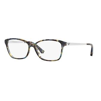Emporio Armani EA3026 5542 Havana Plamiste niebieskie okulary