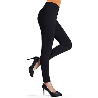 Bamans Women & s Yoga Dress Pants tummy التحكم في التمرين ، أسود المتابعة ، Size X-Large
