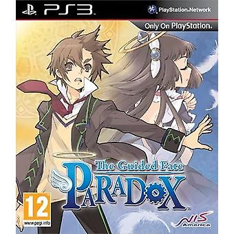 The Guided Fate Paradox PS3 Game (Duitse doos - Engels in het spel)
